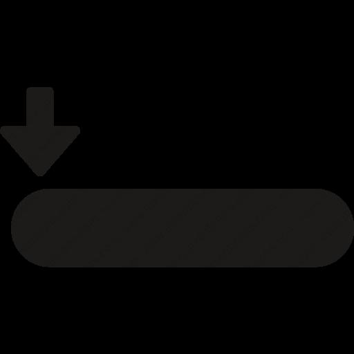 Download Downarrow,rectangle,align,leftarrow,multimedia,options