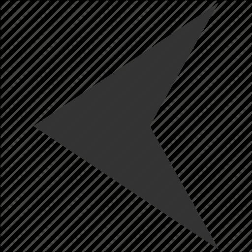 Arrow Left, Arrowhead, Direction, Navigation, Pointer, Previous