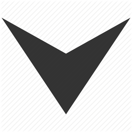 Arrowhead, Back, Direction, Down Arrow, Move, Navigation, Pointer Icon