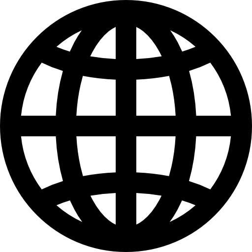 Global Grid Globe Symbol Icons Free Download