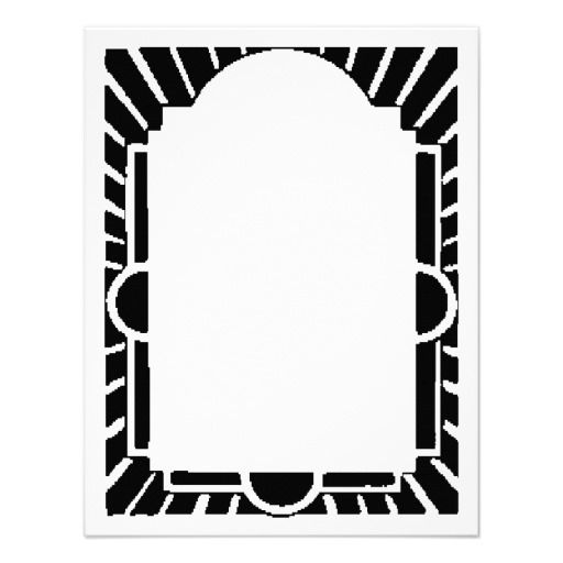 Art Deco Frame,marquee Inspiration