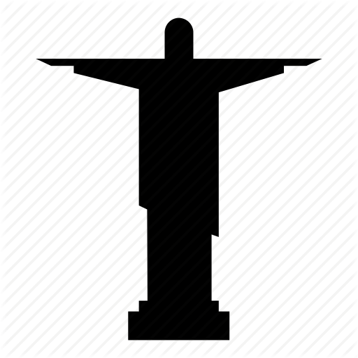 Art Deco Statue, Christ The Redeemer, Jesus Christ, Rio De Janeiro