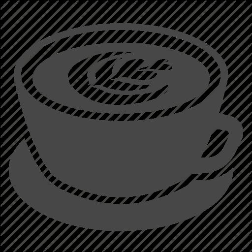 Cafe, Coffee, Cup, Espresso, Hot, Latte, Latte Art Icon