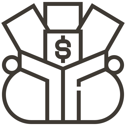 Finance, Money, Dollar, Pawnshop, Payment, Loan, Asset Icon