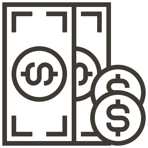 Financial, Loan, Asset, Money, Cash, Currency, Pawnshop Icon