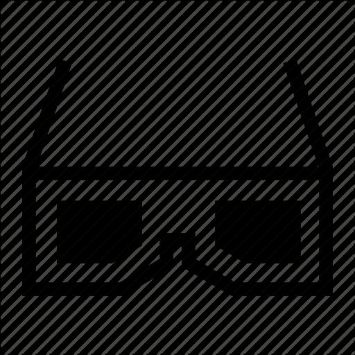 Anaglyph, Entertainment, Futuristic, Media, Movie, Three