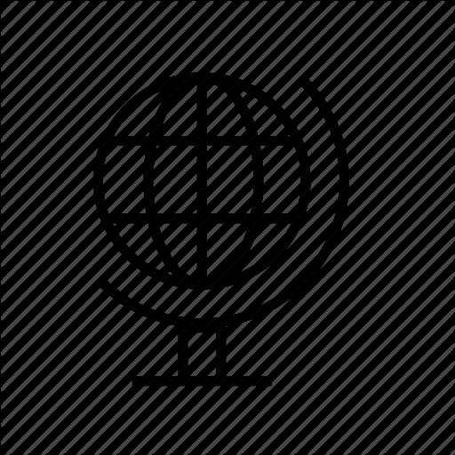 Atlas, Global, Globe, Map, Model, World Icon