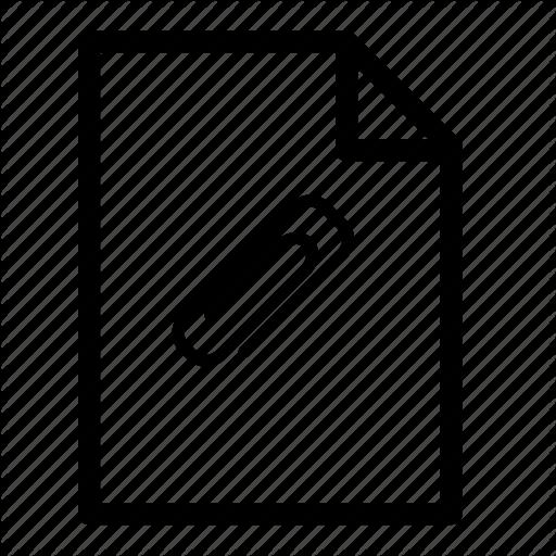 Attach File, File, Icon
