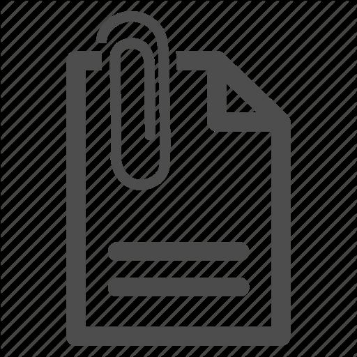 Attach, Attached, Attachement, Attachment, Document, Paper Clip