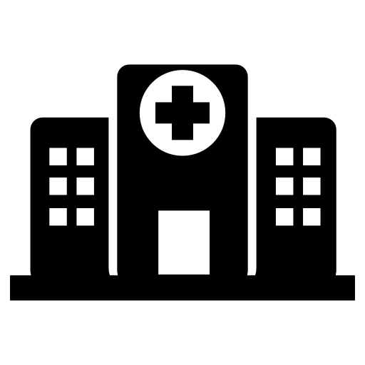 Hospital Buildings Free Vector Icons Designed
