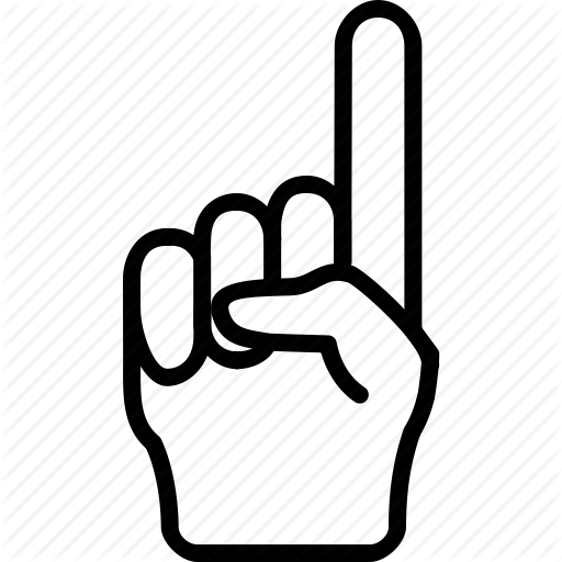 Attention, Finger, Gesture, Hand, Index, Specify Icon