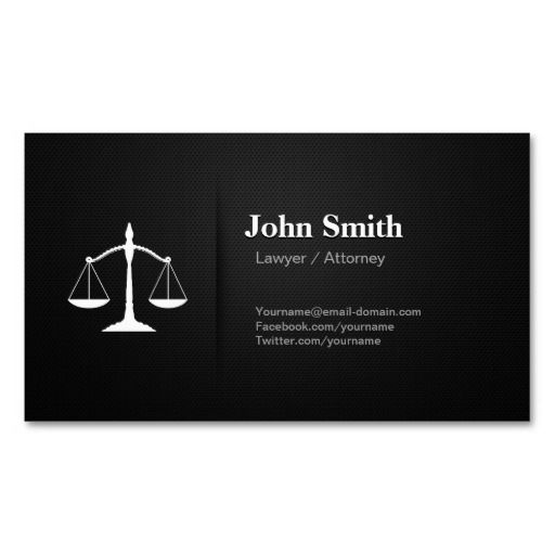Lawyer Attorney Professional Premium Black Mesh Double Sided