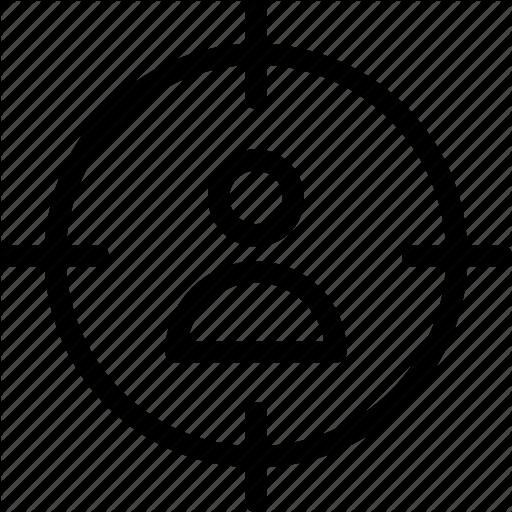 Audience, Customer, Marketing, Target, User Icon Icon