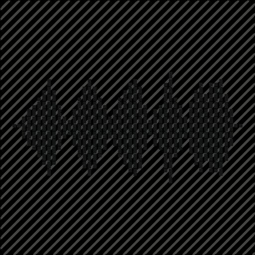 Audio, Beat, Equalizer, Music, Sound, Wave, Waveform Icon