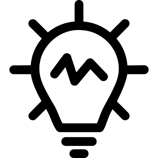 Idea, Networking, Light, Bulb Icon