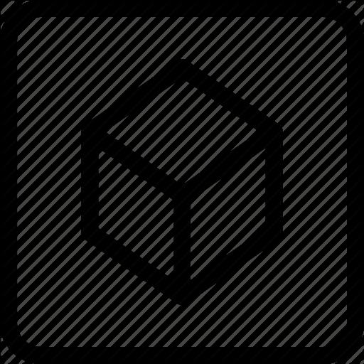 Augmented Reality, Box, Cube, Dice, Virtual Reality Icon