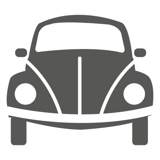 Beetle Car Front Icon
