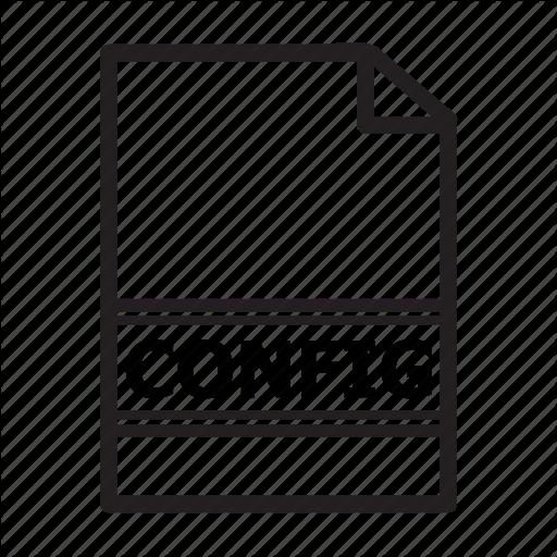 Config, File, Setup, Type Icon