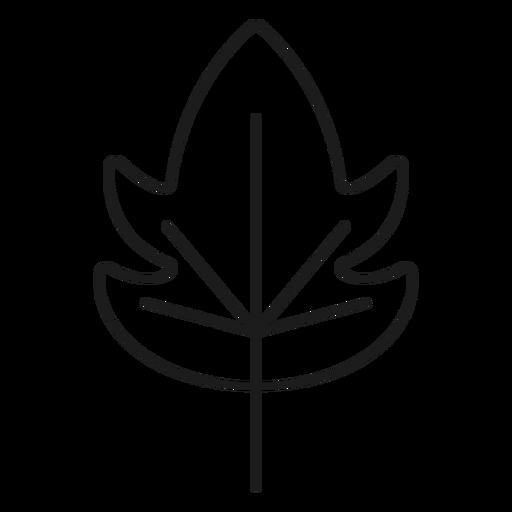 Cucumber Style Leaf Icon
