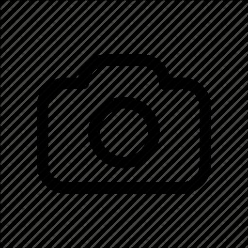 Camera Icon Schematic Diagram