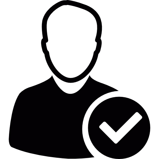User Avatar With Check Mark