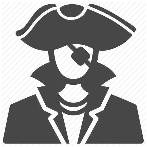 Avatar, Buccaneer, Captain, Pirate, Sea Rover, Thief, User Icon