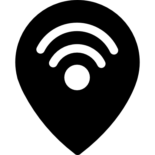 Zone, Blue, Alarm Icon
