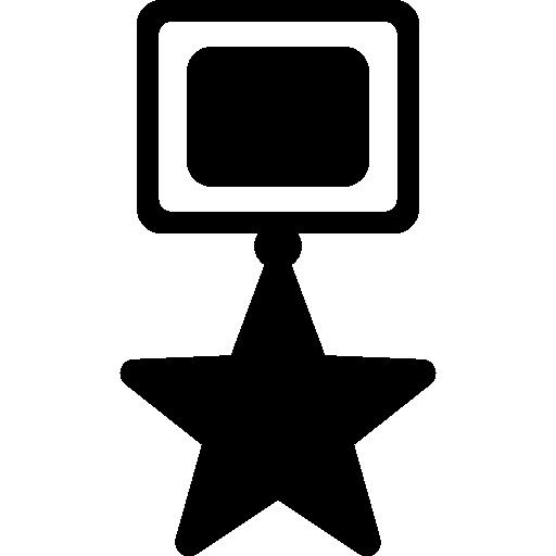 Achievement Star Award Symbol Icons Free Download
