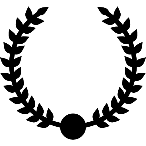 Wreath Award Circular Branches Symbol