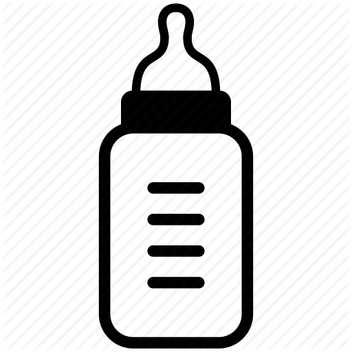 Baby, Baby Bottle, Milk, Milk Bottle, Mother, Newborn Icon