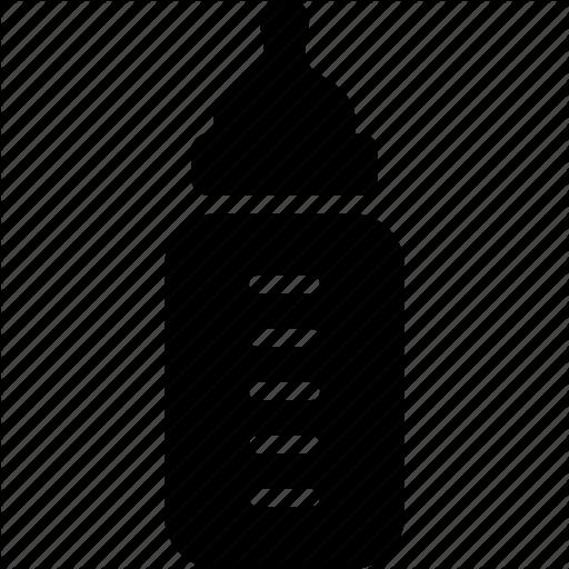 Baby Bottle Icon Size