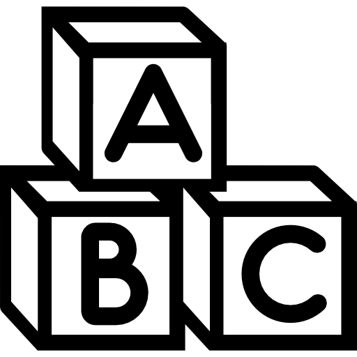 Baby Abc Cubes Icons Free Download