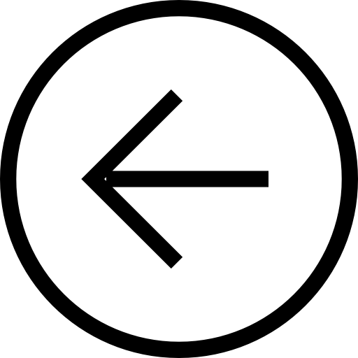 Back Button Circular Left Arrow Symbol