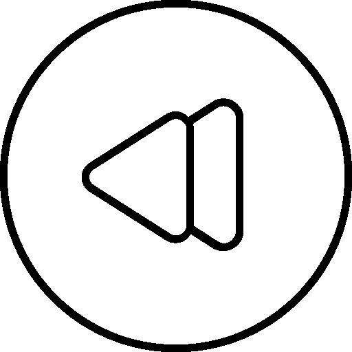 Media Player, Back Button, Rewind, Back Symbol, Multimedia, Media Icon