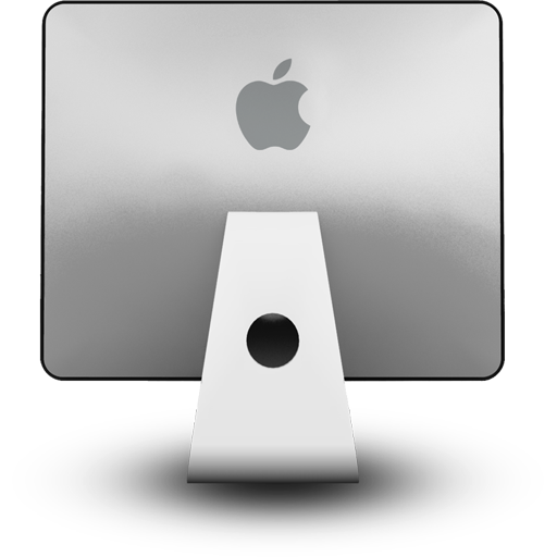 Get Free Icons Imac Back Icon Macs Icons Object Icons