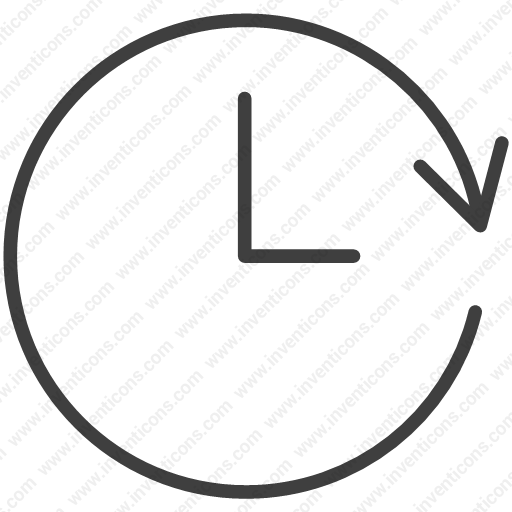 Download Backup,hour,watch,clock,time Icon Inventicons