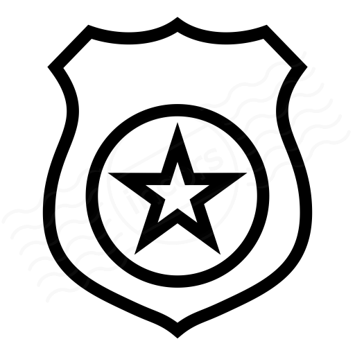 Iconexperience I Collection Security Badge Icon