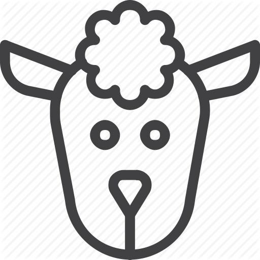 Head, Lamb, Sheep Icon