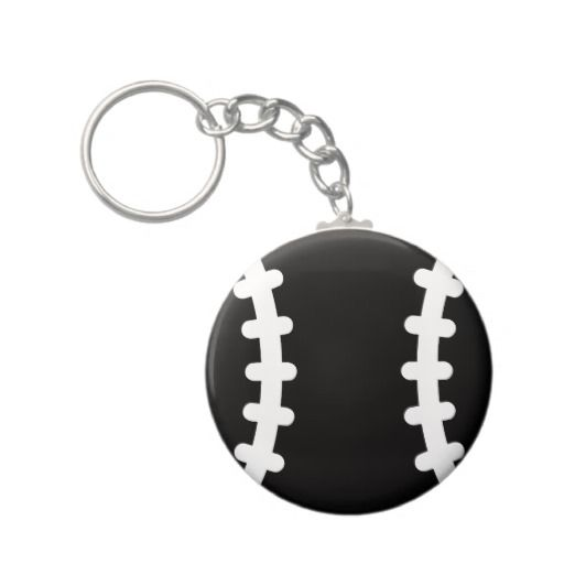 Baseball Icon Symbol Key Chain