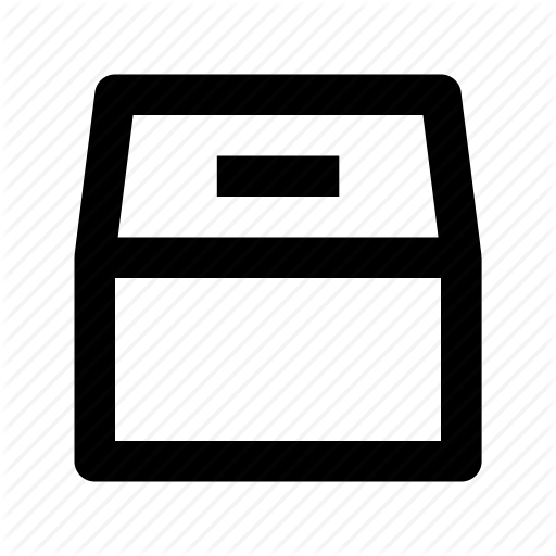 Ballot Box Icon
