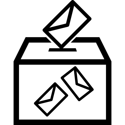 Election Envelopes And Box Icons Free Download