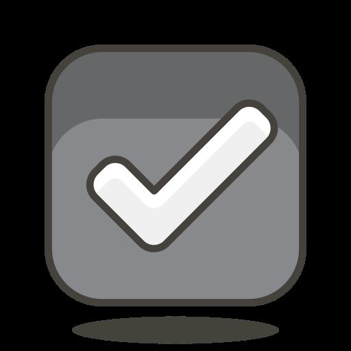 Ballot, Box, With, Check Icon Free Of Free Vector Emoji