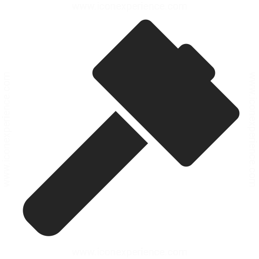 Hammer Icon Iconexperience