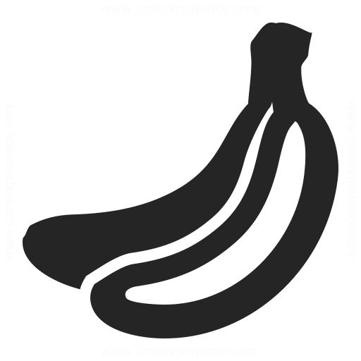 Banana Icon Iconexperience