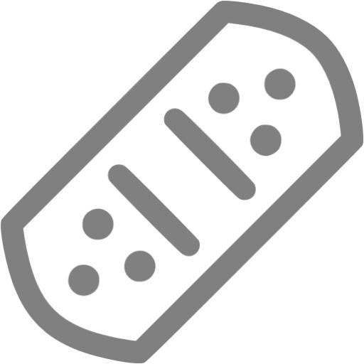 Gray Bandage Icon