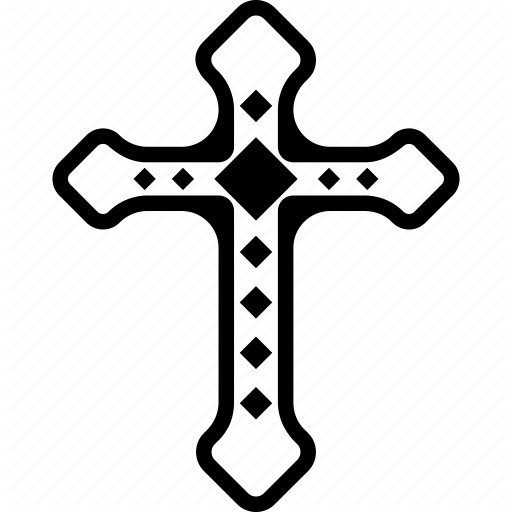 Catholic, Christianity Symbol, Cross Design, Jesus Christ, Peace