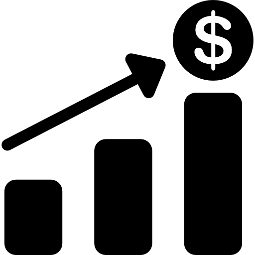 Financial Bar Chart Icons Free Download