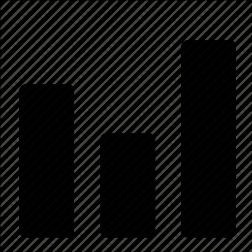 Bar, Chart, Diagram, Graph, Statistics Icon