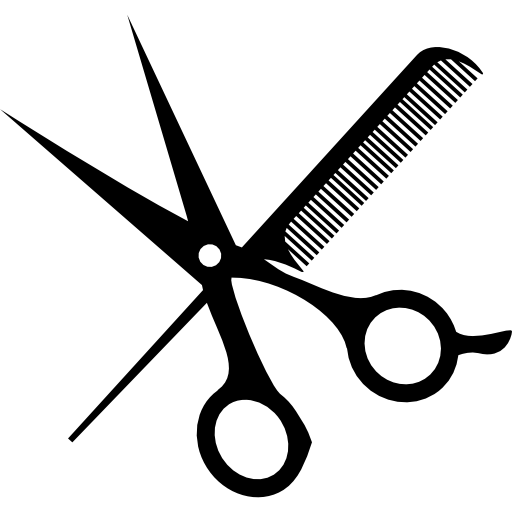 Scissors And Comb Free Vector Icons Designed