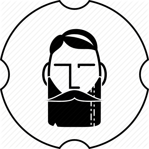 Barber, Beard, Haircut, Mustache, Shop Icon